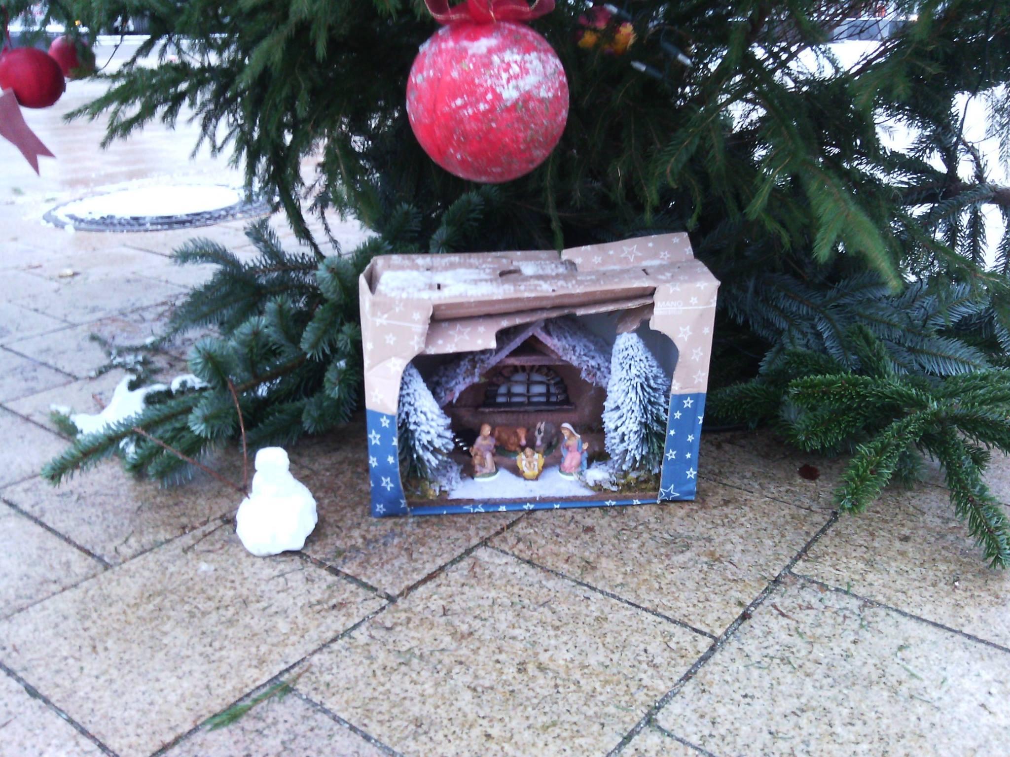 B rgerinnenverein rieselfeld oh tannenbaum es weihnachtet sehr - Weihnachtsbaumverkauf obi ...